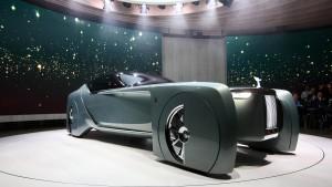 Auch Rolls-Royce denkt über selbstfahrende Autos nach