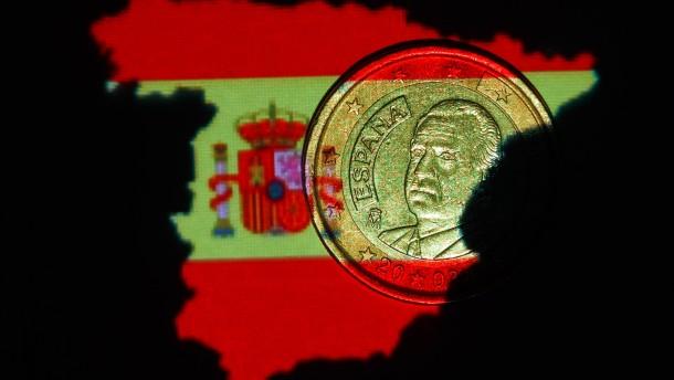 Spaniens Schuldenstand nähert sich kritischem Wert