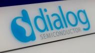 Das Logo von Dialog Semiconductor