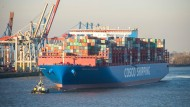 Vor allem die Exporte beflügeln die Konjunktur.