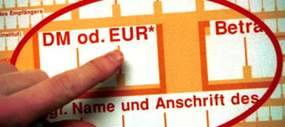rechner dm euro