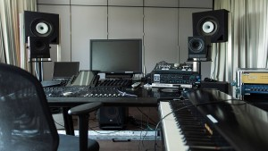Spargelfeld statt Studio
