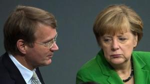 Kanzlerin erfuhr von Pofallas Wechselplänen Ende November