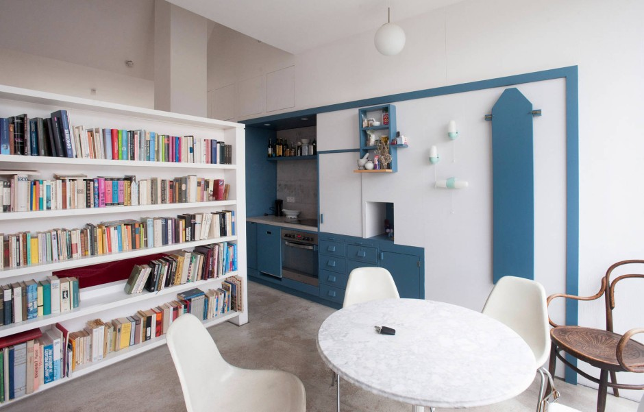 stadthaus in frankfurt. Black Bedroom Furniture Sets. Home Design Ideas