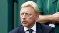 Boris Becker während des Wimbledon-Finales vor wenigen Tagen.