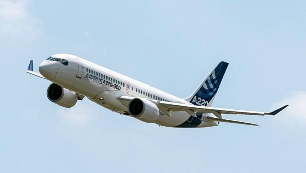 Airbus vor Kauf von Bombardiers A220-Anteilen