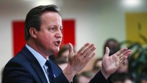 Opposition fordert Erklärung von Cameron