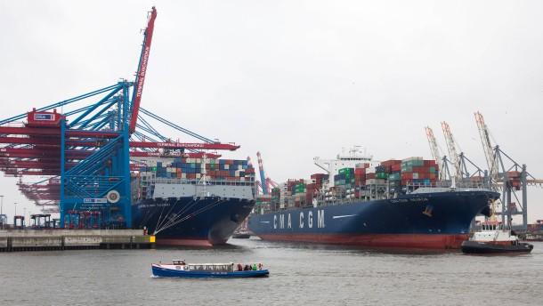 Deutsche Exporte treten auf der Stelle