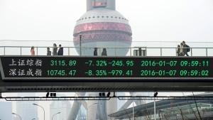 China schränkt Kapitalverkehr weiter ein