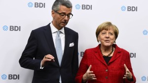 Merkel: Deutschland hat von Abschaffung der Binnengrenzen profitiert