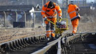 Die Bahn investiert ins Schienennetz - auf 850 Baustellen am Tag