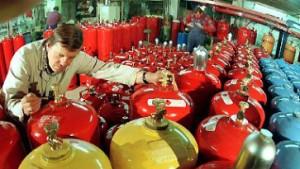 Millionenstrafe für Flüssiggasanbieter