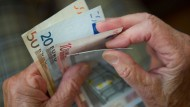 Reicht das Geld im Alter?