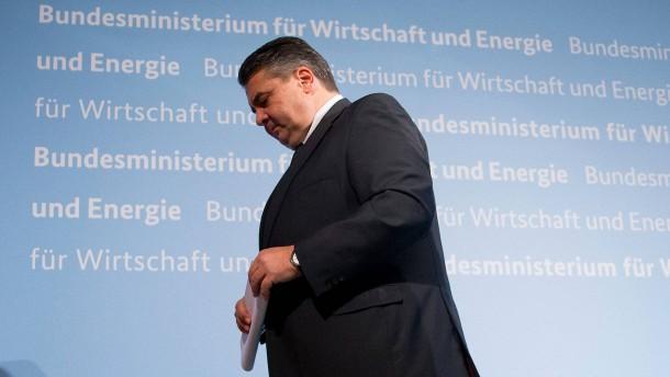 Union gegen neue Regeln für den Wirtschaftsminister