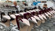 Die Schuhfabrik Peter Kaiser gehört zu den wenigen Produzenten in Pirmasens, die den Wandel überlebten.