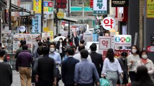 Südkoreas Wirtschaft erreicht Vor-Pandemieniveau