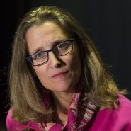 Aus Brüssel abgereist: Chrystia Freeland, die kanadische Handelsministerin