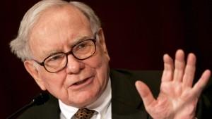 Buffett weiter auf  Großwildjagd