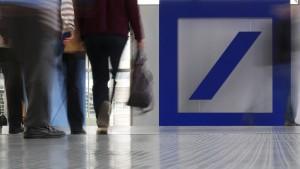 Aktie der Deutschen Bank auf Allzeittief