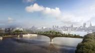 Garden Bridge: Der Bau des umstrittenen Prestigeprojekts soll im Sommer beginnen.