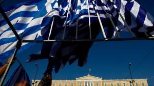 """Griechenlands Staatsinsolvenz in Betracht ziehen"""