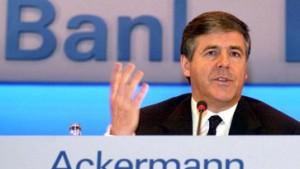 Mythos Deutsche Bank: Josef Ackermann als allegorische Gestalt