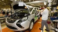 Der Opel Zafira wird in Rüsselsheim produziert.