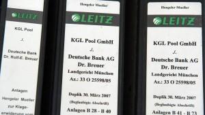 Früherer Kirch-Finanzchef unterstützt Deutsche Bank