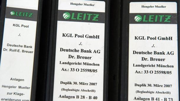 Zivilprozess Kirch gegen Deutsche Bank
