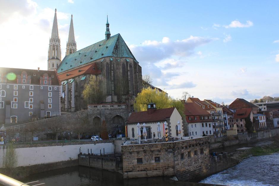 St. Peter und Paul Kirche in Görlitz – das kleine Bistum im Osten Deutschlands hat steigende Mitgliederzahlen. Diese kommen vornehmlich aus Polen und dem Baltikum.