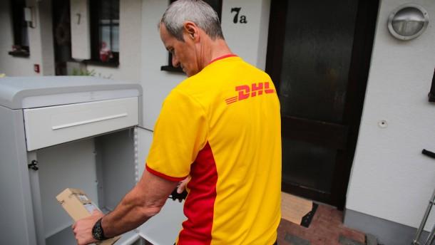 Post plant Paketkästen für Mietshäuser