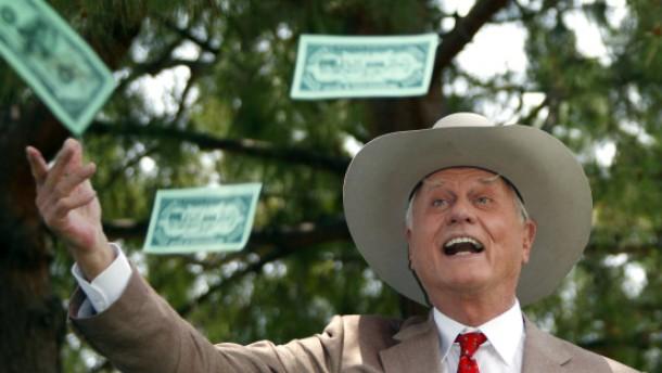 J. R. Ewing steigt auf Sonnenenergie um