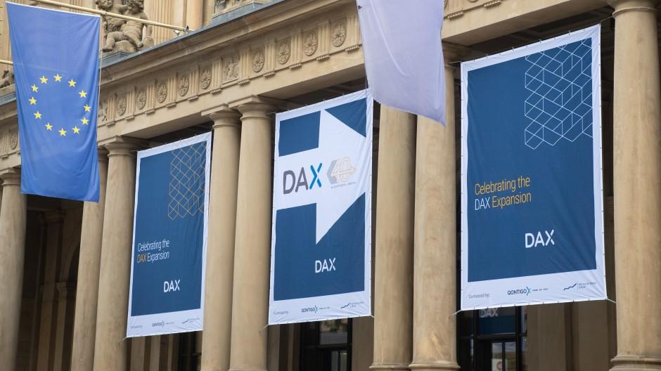 Auf geht es in den Dax 40 - für diese zehn neuen Unternehmen.