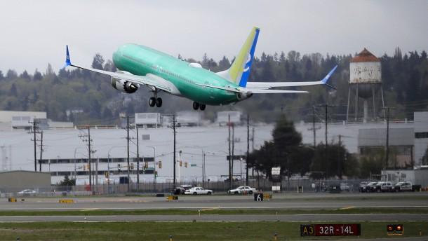 Boeing kommt mit 737-Max-Tests voran