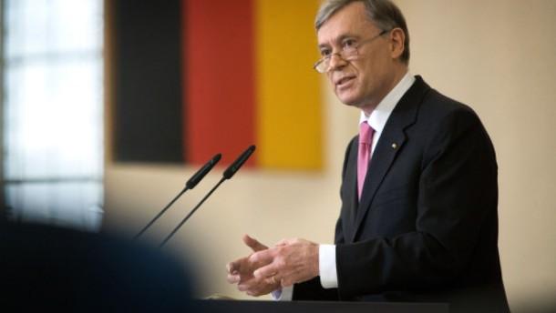Köhler fordert Insolvenzordnung für Staaten