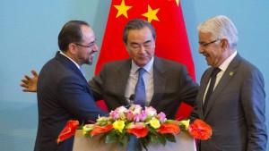 """China will Afghanen in """"Neue Seidenstraße"""" einbinden"""