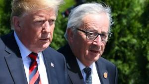 EU an Trump: 300 Milliarden Dollar Vergeltung für Autozölle