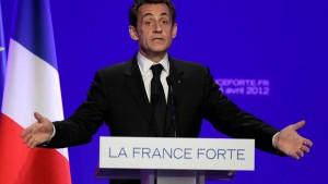 Sarkozy schärft sein Profil als Sparmeister