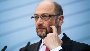 Martin Schulz will höhere Löhne in Deutschland