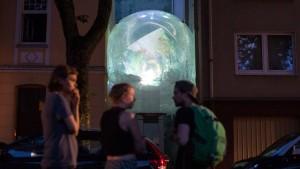 Kein Wohnheimplatz? Zieh einfach in den Luftballon!