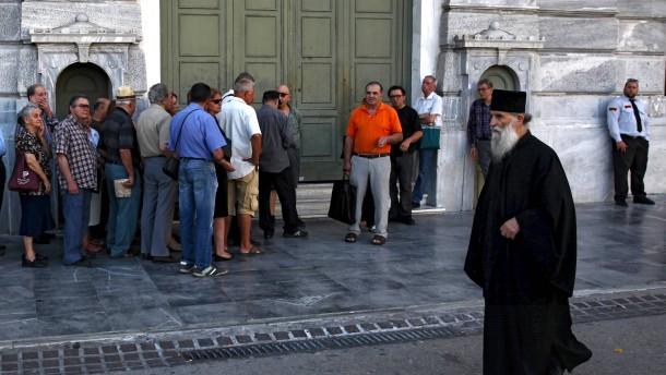 Die Troika ist nach Athen zurückgekehrt