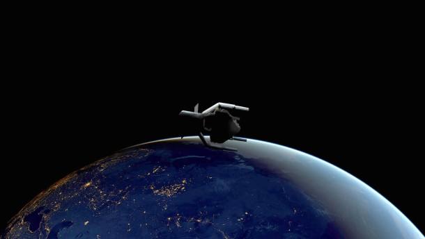 Der Weltraummüll soll verschwinden