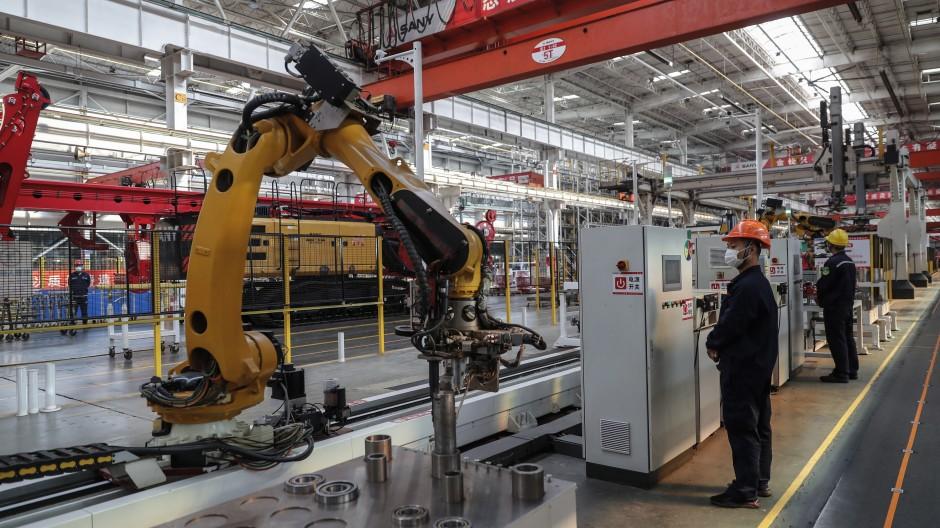 Auf Chinas Wirtschaftswachstum verlassen sich viele deutsche Unternehmen.