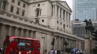 Die Bank of England in London