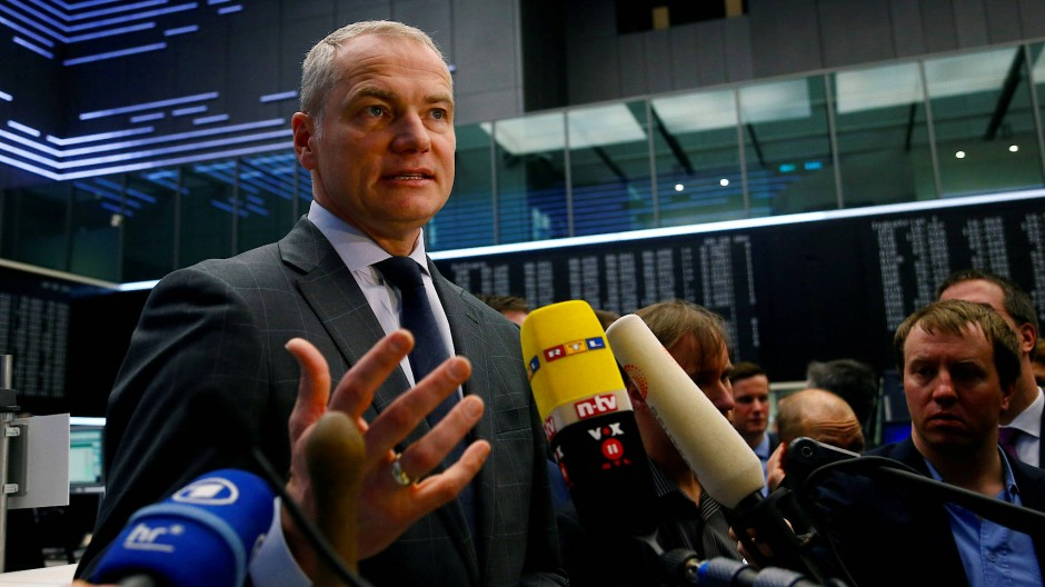 Börsenchef Carsten Kengeter soll sich mehrmals mit dem Chef der Londoner Börse getroffen haben.