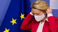 Im Krisenmanagement: EU-Kommissionspräsidentin Ursula von der Leyen