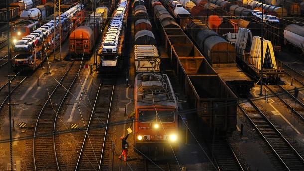 Die Güterwaggons werden immer älter