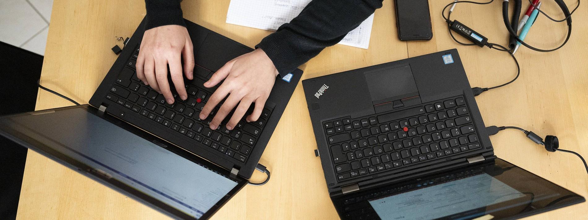 PC-Geschäft mit zweistelligem Minus