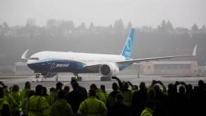 Neues Boeing-Modell absolviert Erstflug