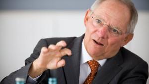 Schäuble: Athen erfüllt unsere Auflagen nicht